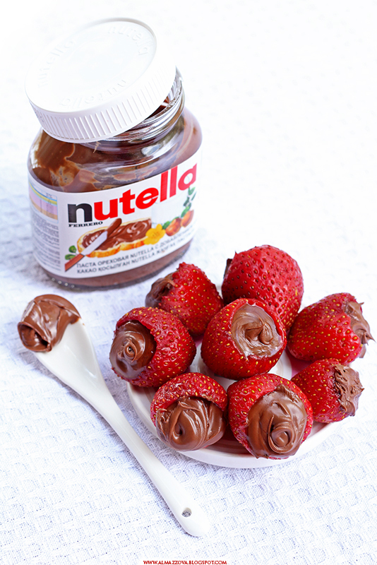 Strawberries with Nutella
