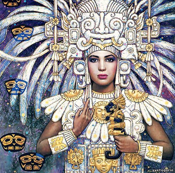 женщина майя