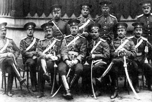 русские офицеры