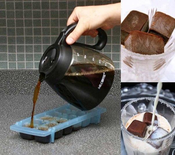 замороженый кофе