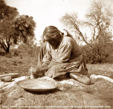 grind_rock_native_american_bw