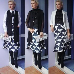 Черно-белые офисные луки: linda_fox — LiveJournal