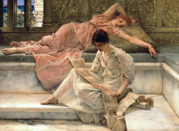 the-favourite-poet-sir-lawrence-alma-tadema