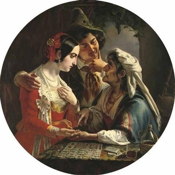 Картина Микеланджело Скотти.