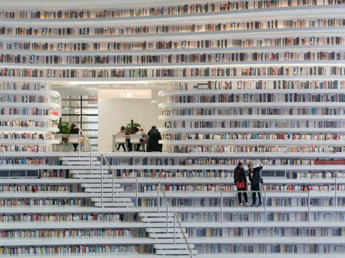 """Библиотека """"Глаз Бинхая"""", Китай. telegraf.com.ua"""