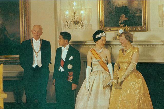 В Белом доме президента Эйзенхауэра и его жены и Вашингтоне. 1960 год. Фото: Commons.wikimedia.org