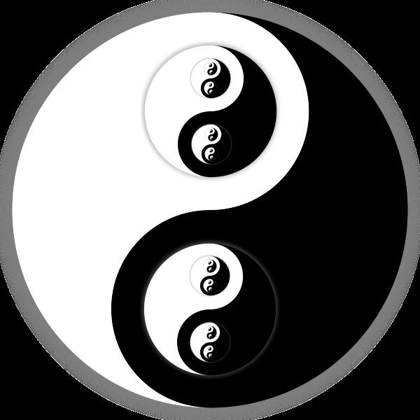 Recursive Yin-Yang Taijitu