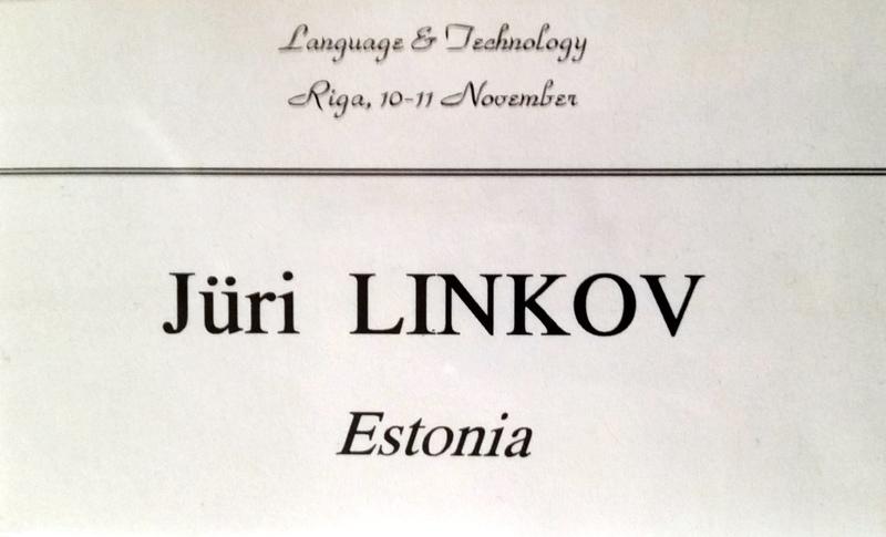 Language Technology 1994