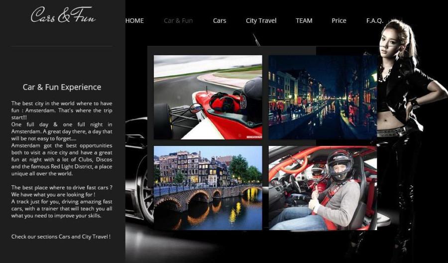 car & fun page