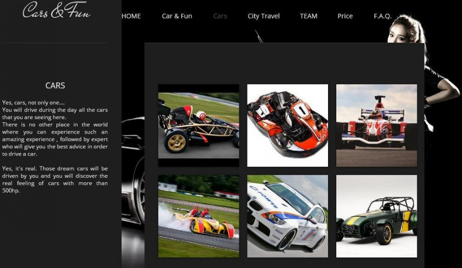 cars page
