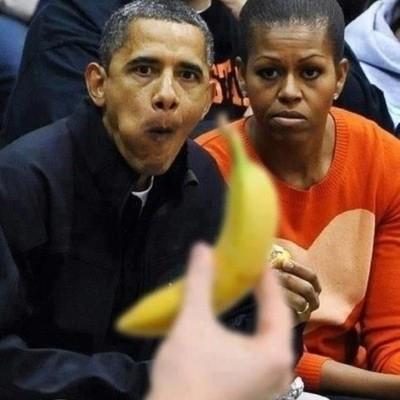Обама и банана