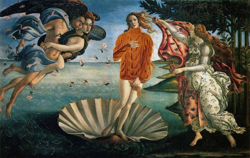 Венера в свитере.-816489