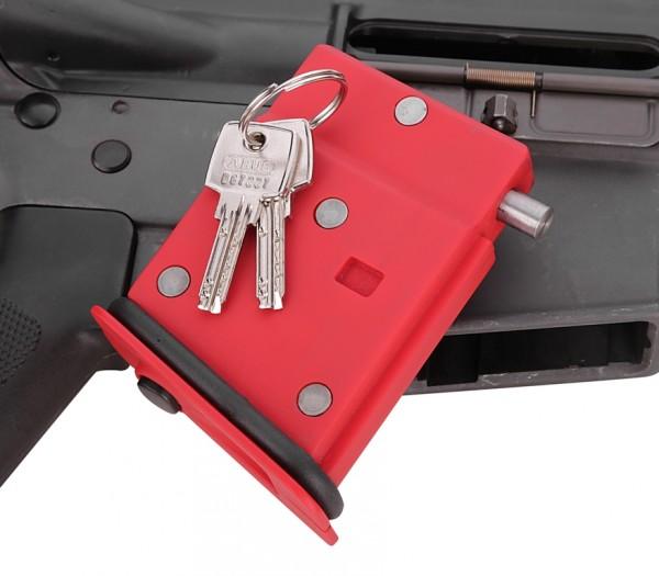 AR 15 Magazin lock