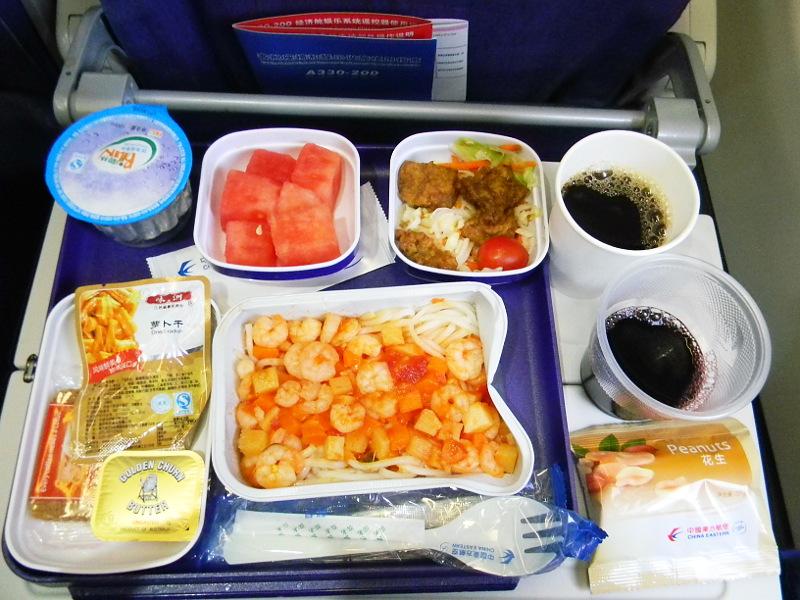 Рейс авиакомпании China Eastern - Шанхай - Санкт-Петербург