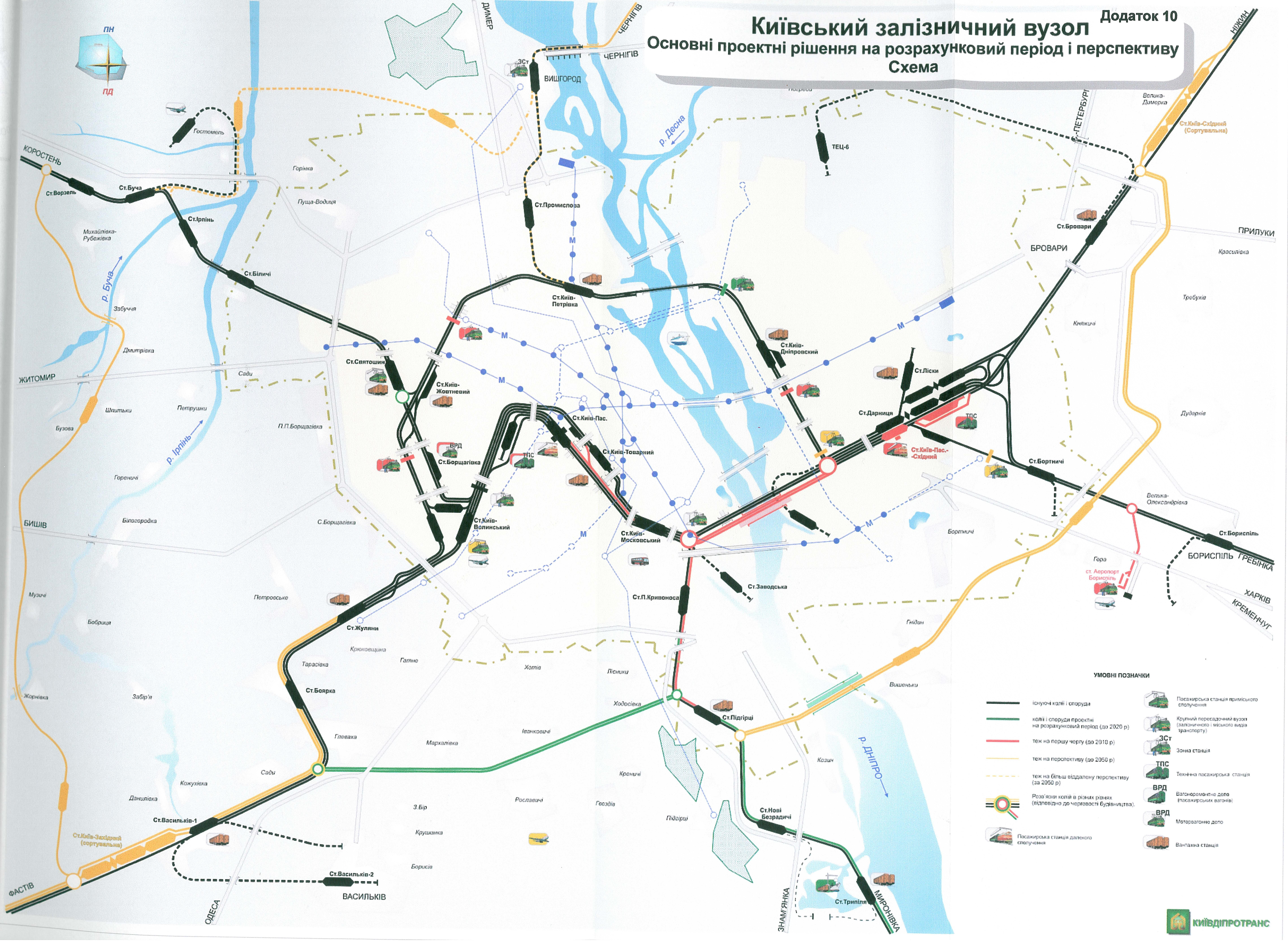 План развития киевского жд узла