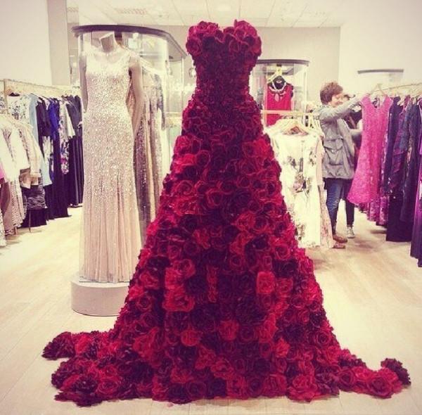 Самые шикарные и красивые платья