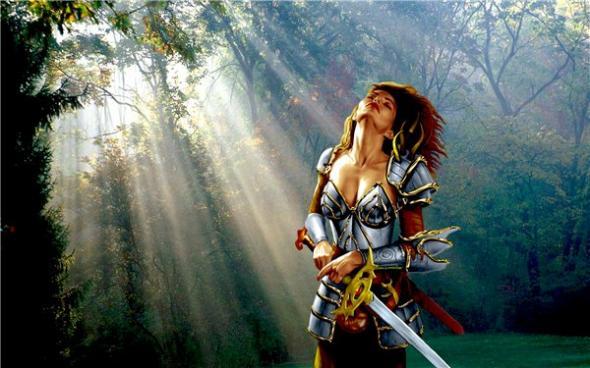 Леди-рыцарь