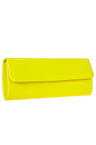 жёлтый клатч