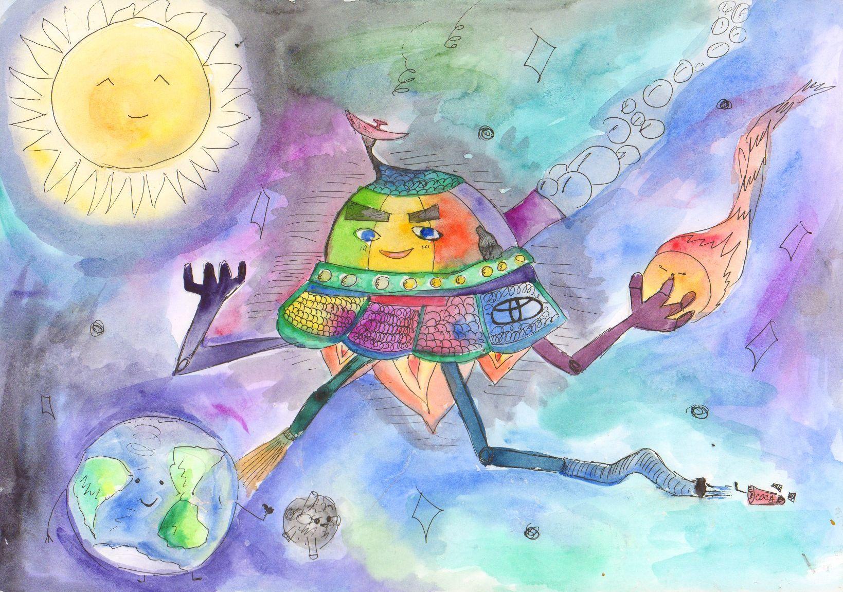Моя мечта картинки детские, день