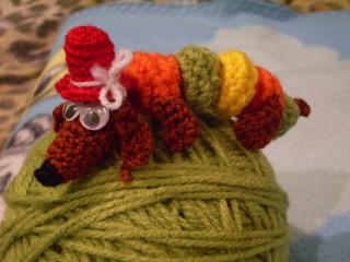 Вязаные игрушки от лилии ш