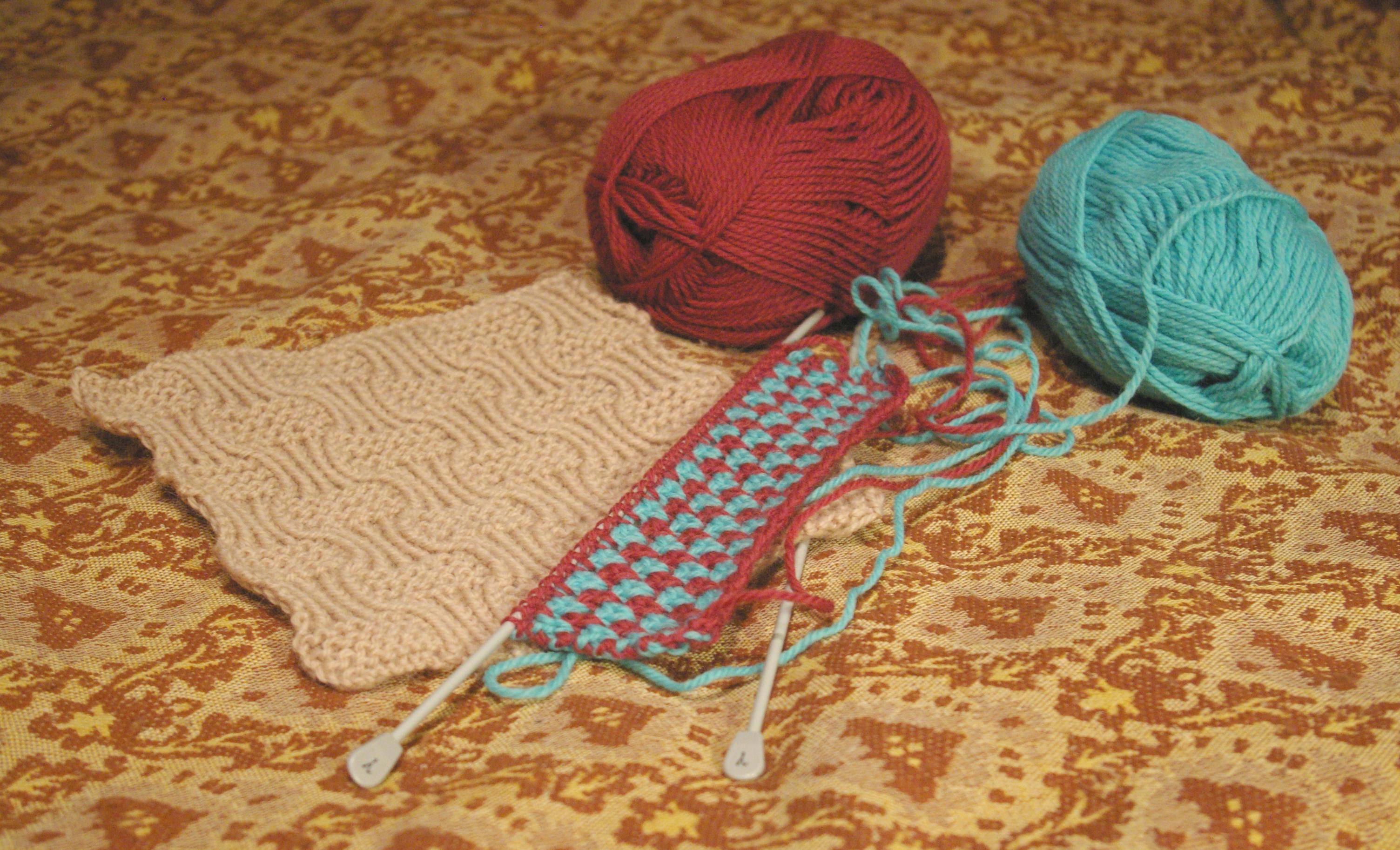 Вязание пледа онлайн