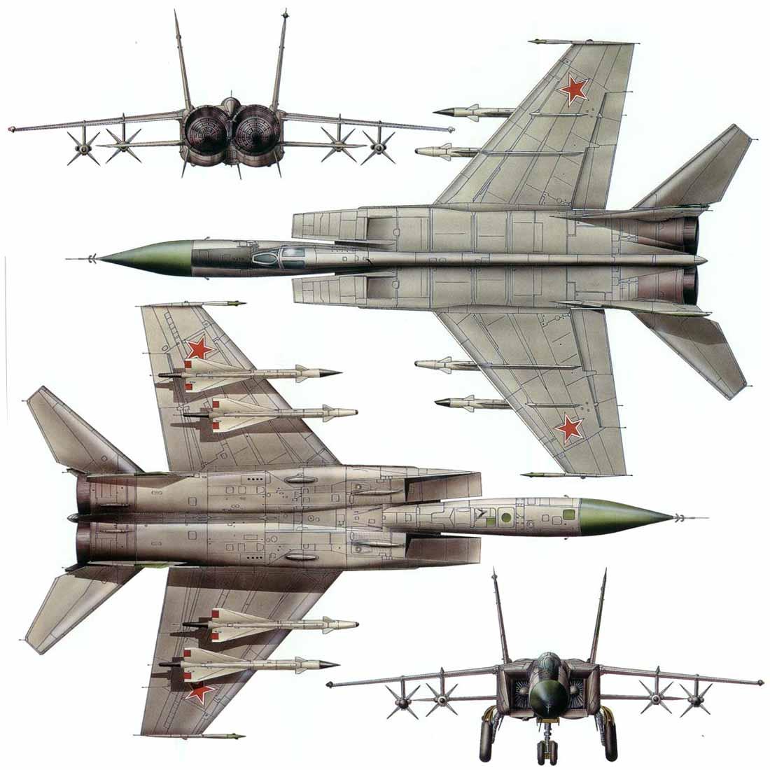 Пара МиГ-25