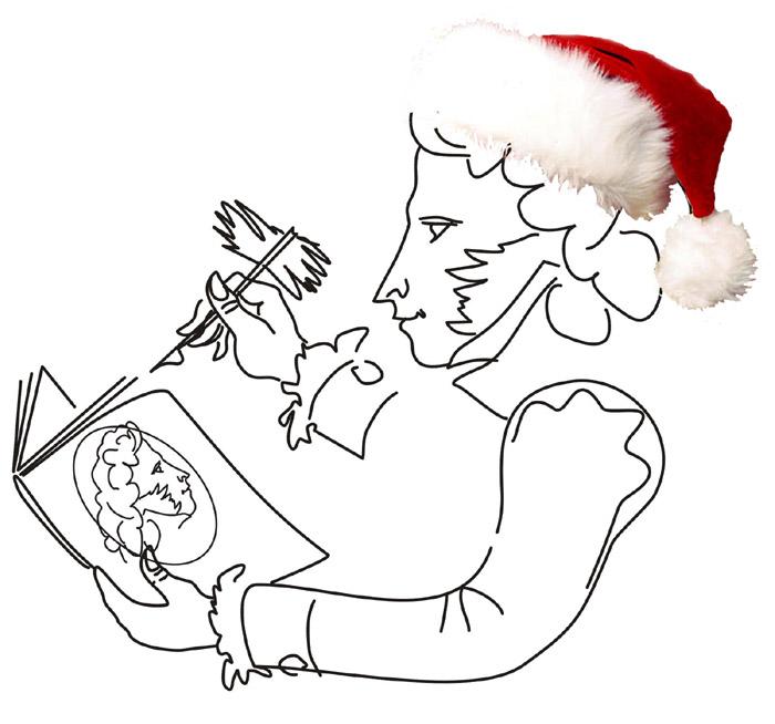 Пушкин - Дед Мороз