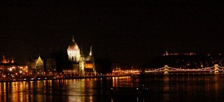 Parliament on the Danube in Budapest