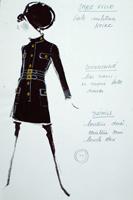 Модели эскизы женских блузок.