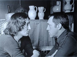 М. Шемякин и В. Высоцкий в мастерской Шемякина (Париж, 1976). Фотография П. Бернара