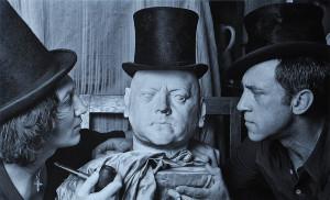 М. Шемякин и В. Высоцкий в мастерской Шемякина (Париж, 1976). Фотография П. Бернара_2