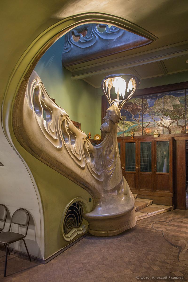 Особняк Рябушинского на Спиридоновке. Фото используется с любезного разрешения искусствоведа А. Яковлева