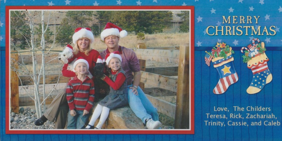 The Childers Family 2007
