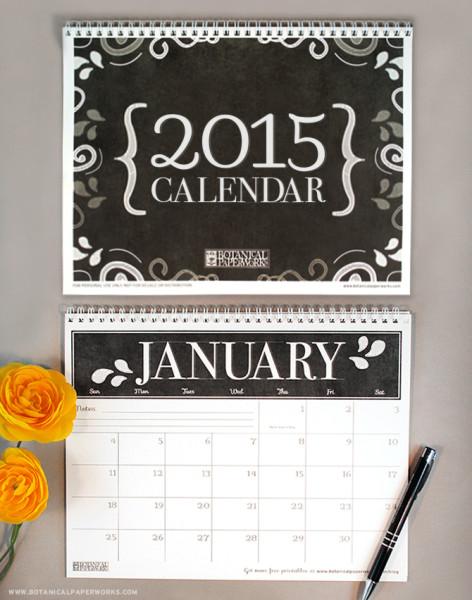Free_Printable_Calendar_2015_Long(2)