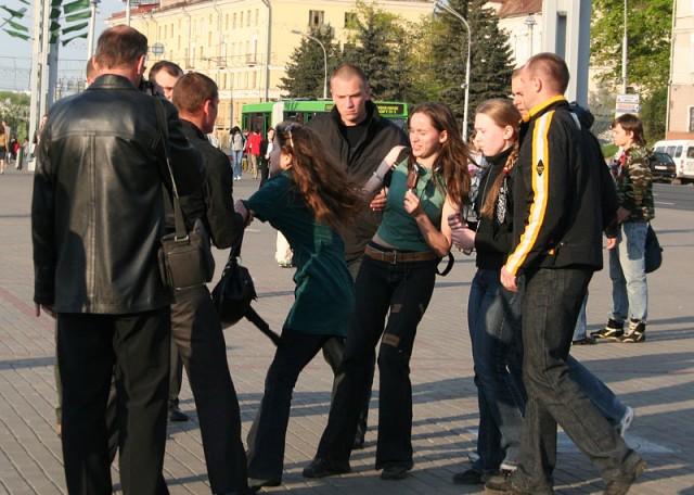 belarus flashmob