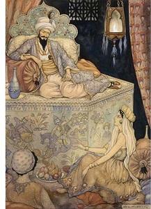 Шахерезада и царь Шахрияр