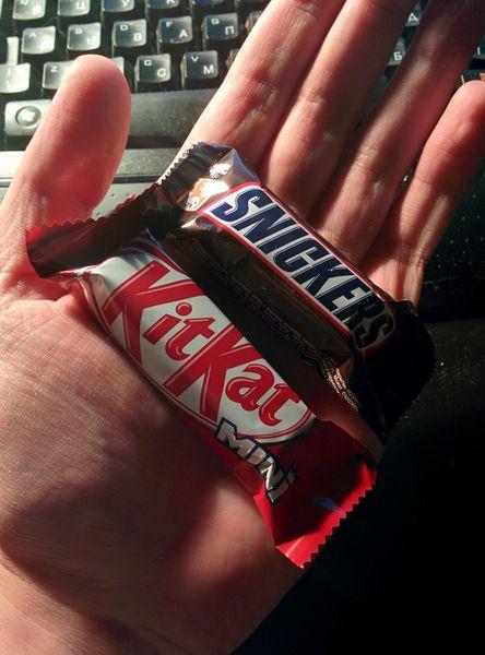 шоколадки