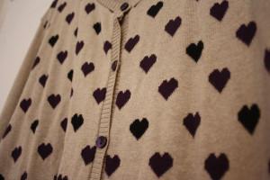 heart cardi detail