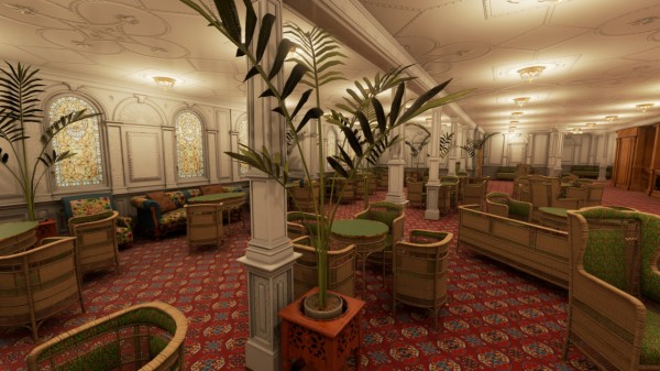 View First Class Reception Room Source