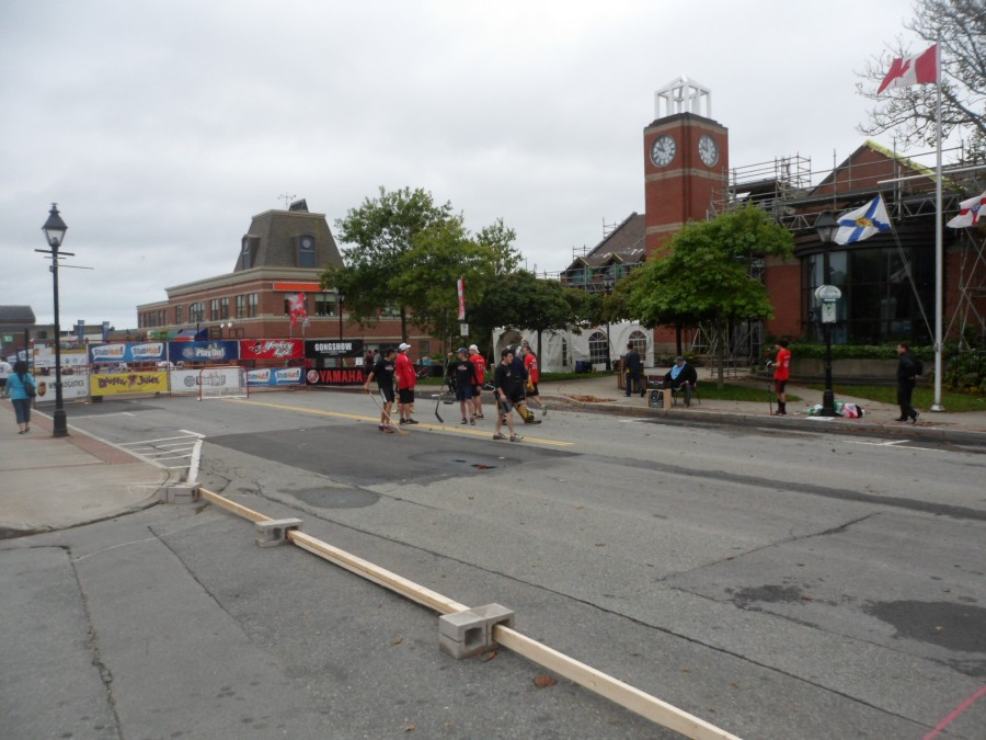 Street Hockey in Yarmouth, NS