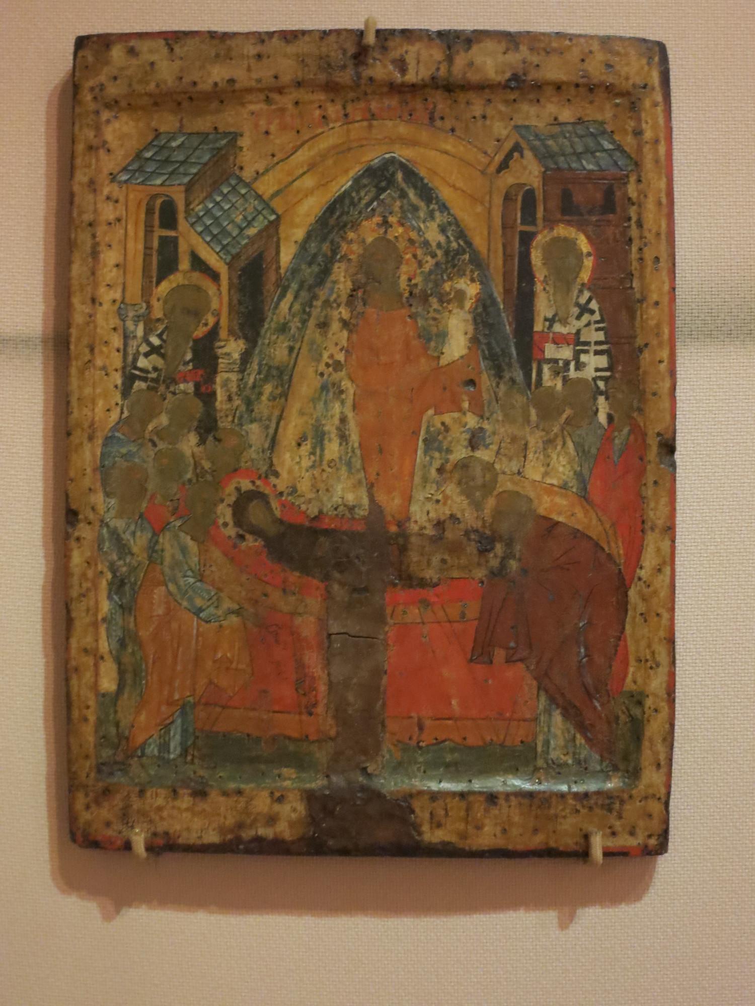 Успение Богородицы. Конец 15 века.