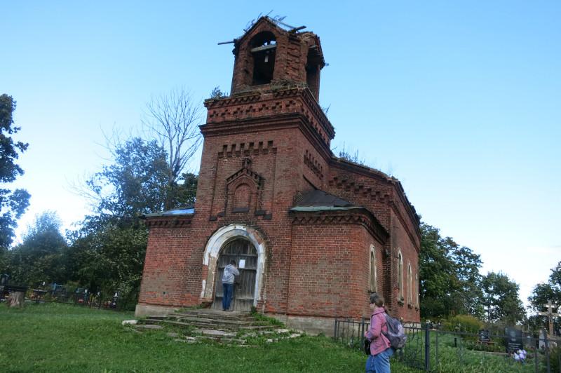 Церковь Преображения Госпдня, архитектор Горностаев