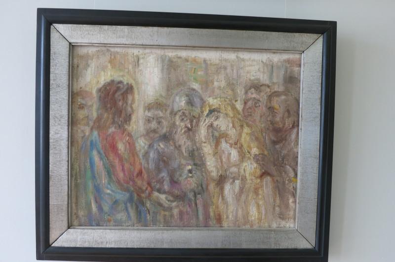 Христос и грешница, 1950-е