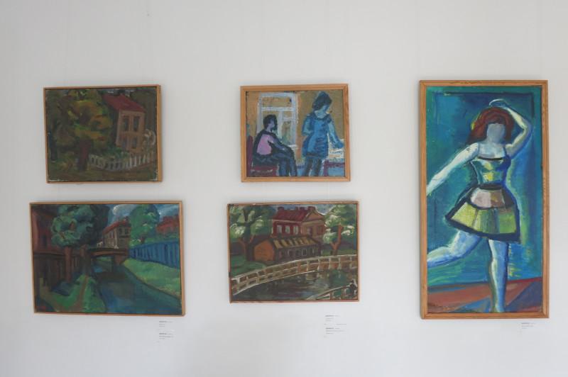 """Работы В.Н. Шагина (1932 — 1999), отца """"нынешнего"""" Шагина, """"Митька"""""""