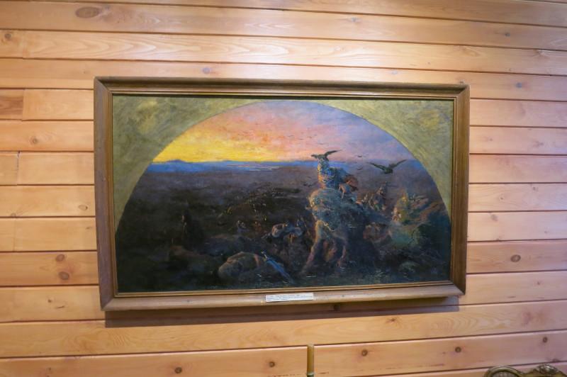 Одна из трёх подлинных работ Рериха в коллекции музея