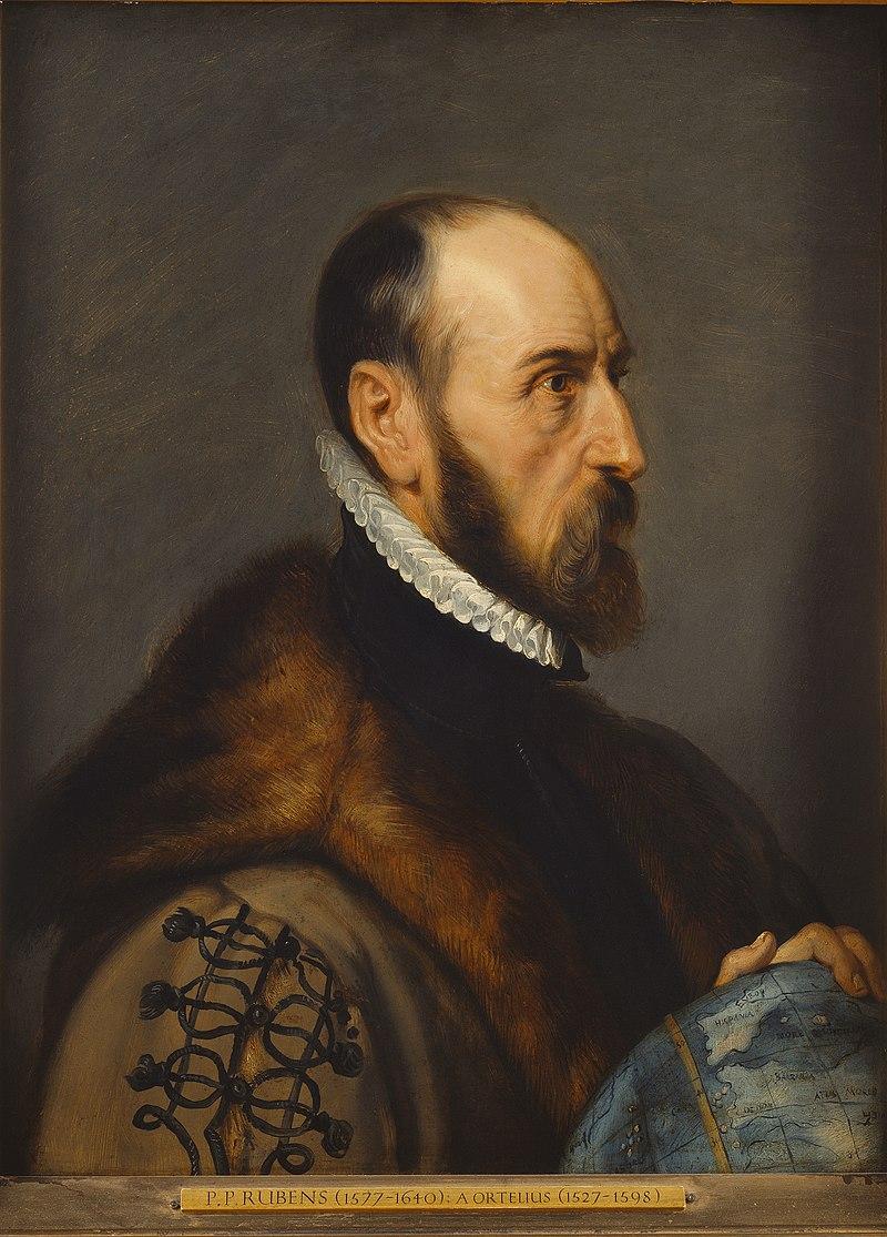 Портрет Абрахама Ортелия работы Питера Рубенса