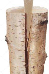 деревянный клин