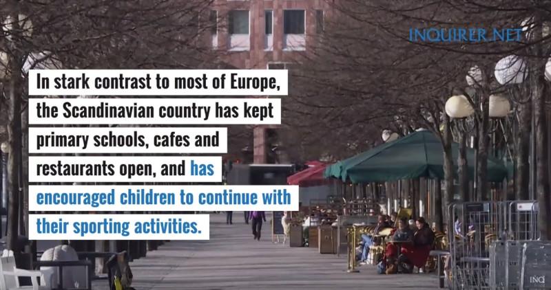 Начальные школы и рестораны открыты, детей поощряют заниматься спортивной активностью