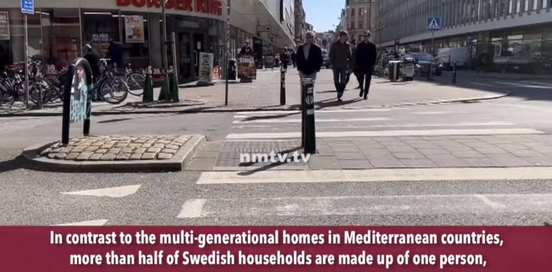 """Половина """"семей"""" в Швеции состоит из одного человека"""