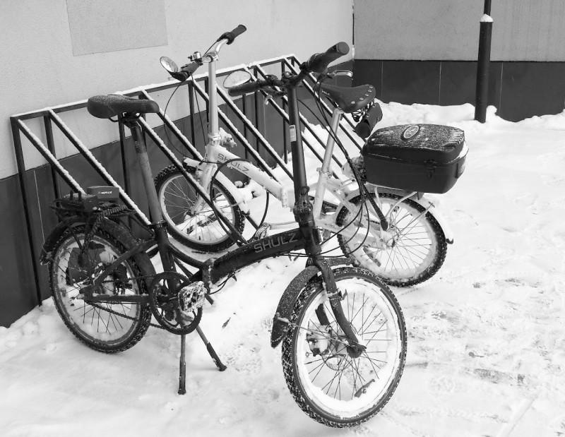 Один из велосипедов автора